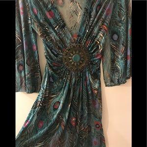 Gorgeous Silk sky blouse